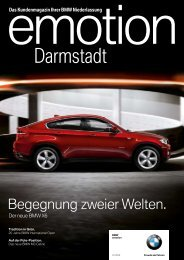 BMW Niederlassung Darmstadt - Publishing-group.de