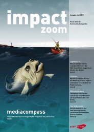 impact zoom [PDF] - Publisuisse SA
