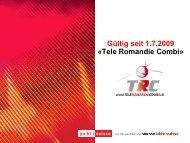 Tele Romandie Combi – lokale Vertiefung in der französischen ...