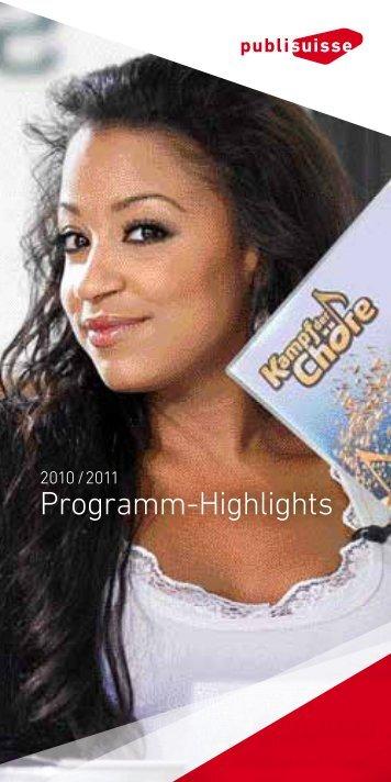 Programm-Highlights 2010/2011