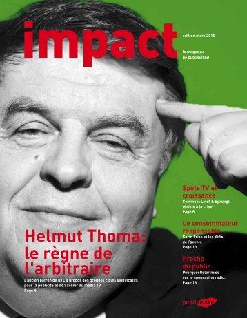 impact 1/2010 [PDF] - Publisuisse SA