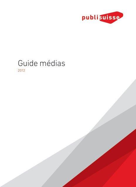 Guide médias - Publisuisse SA