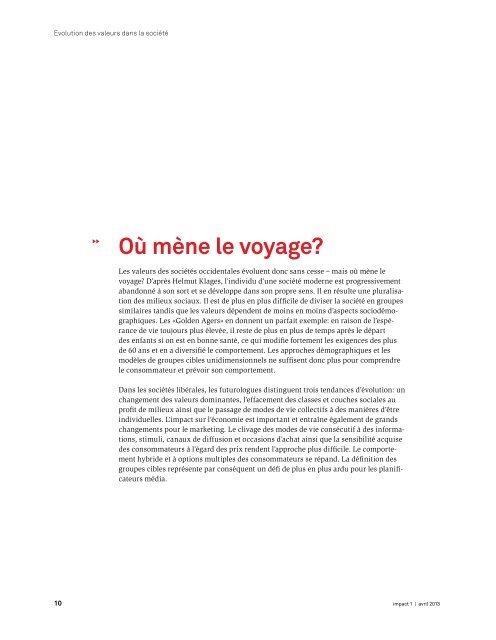 téléchargement de impact avril 2013 [PDF] - Publisuisse SA