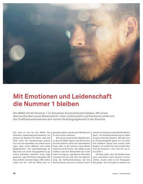 impact November 2013 herunterladen [PDF] - Publisuisse SA