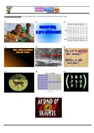 Cryptic Film Titles (004). Can you identify these well ... - Pubs Quiz