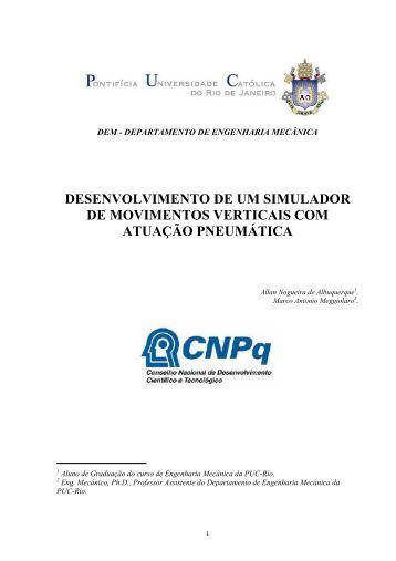 DESENVOLVIMENTO DE UM SIMULADOR DE ... - PUC-Rio