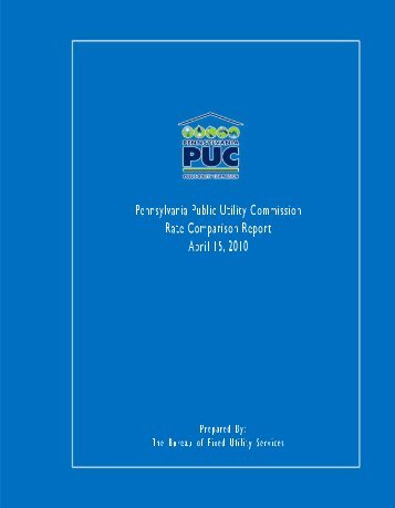2010 Report - Pennsylvania Public Utility Commission