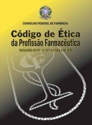 Código de Ética Farmacêutico - Conselho Federal de Farmácia