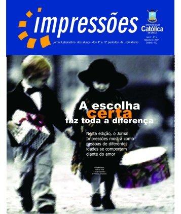 Impressões - Ano 2 - N°5 - Ucg