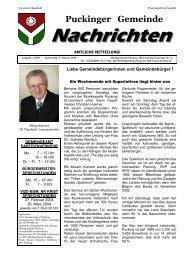 Gemeindenachrichten 2-2004 (0 bytes) - Gemeinde Pucking