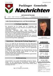 Gemeindenachrichten 10/2006 (0 bytes) - Gemeinde Pucking