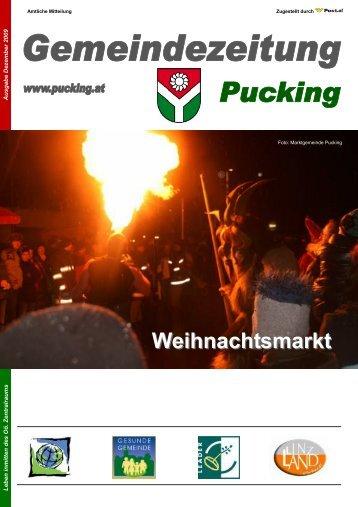 Gemeindenachrichten 12-2009 (576 KB) - Gemeinde Pucking