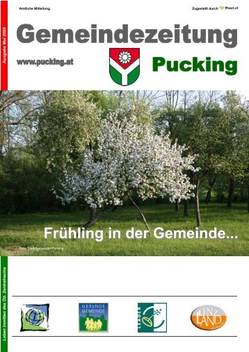 Gemeindezeitung Mai Ausgabe (1,23 MB) - Gemeinde Pucking