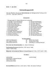 Sitzungsprotokoll Nr. 11 (457 KB) - .PDF - Gemeinde Pucking