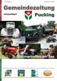 Ausgabe 7-8/2012 (5,82 MB) - Gemeinde Pucking