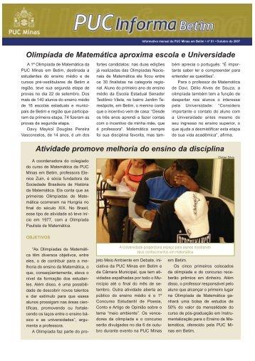 outubro de 2007 - PUC Minas