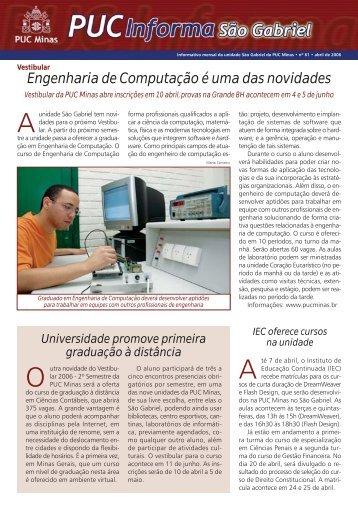 Abril de 2006 - PUC Minas