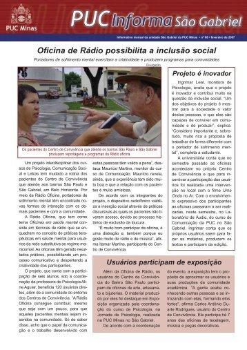 Fevereiro de 2007 - PUC Minas