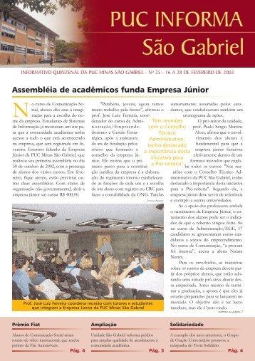 fevereiro - PUC Minas