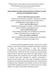 BASES URBANAS DE MINAS GERAIS EM MAPAS DO ... - PUC Minas