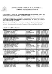 Poços Caldas - PUC Minas