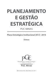 planejamento e gestão estratégica puc minas (pge)
