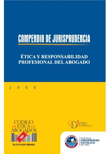 Compendio de Jurisprudencia - Pontificia Universidad Católica del ...