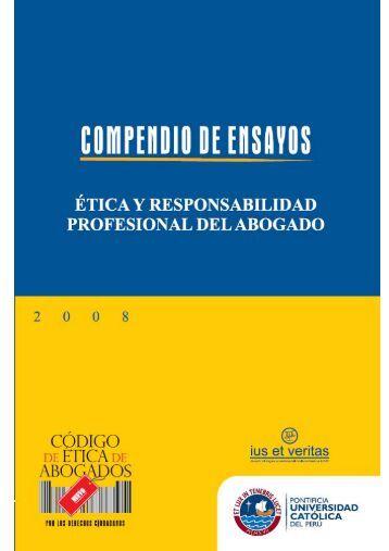 Compendio de Ensayos - Pontificia Universidad Católica del Perú