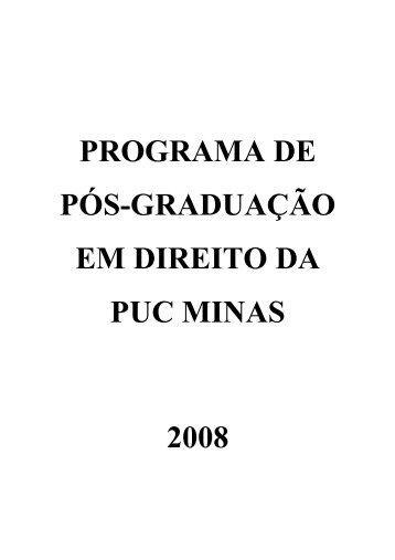 Manual do aluno retificado_2008 - PUC Minas