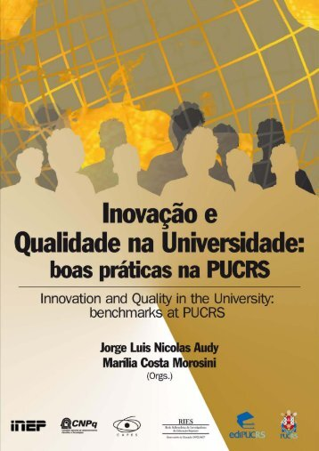 Access the Benchmarks of Innovation and Quality at PUCRS (PDF ...