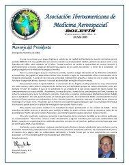 Asociación Iberoamericana de Medicina Aeroespacial - pucrs