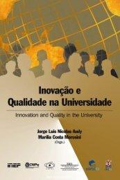Inovação e qualidade na Universidade = Innovation and ... - pucrs