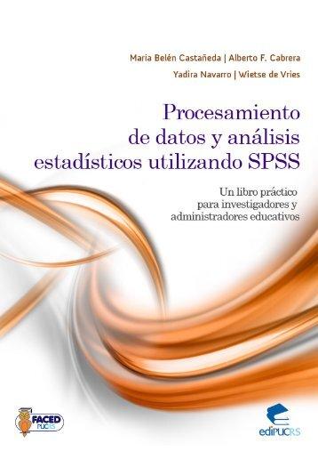 Procesamiento de datos y análisis estadísticos utilizando ... - pucrs