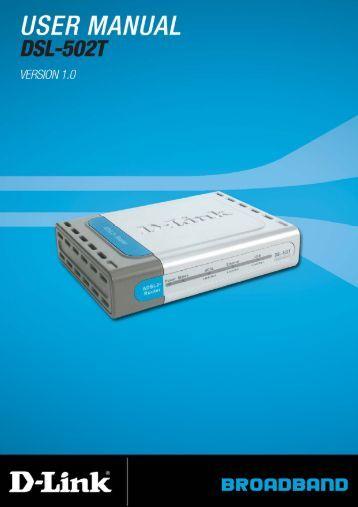 d link ebr 2310 manual