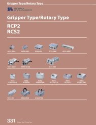 5 Gripper and Rotary types - Intelligent Actuator