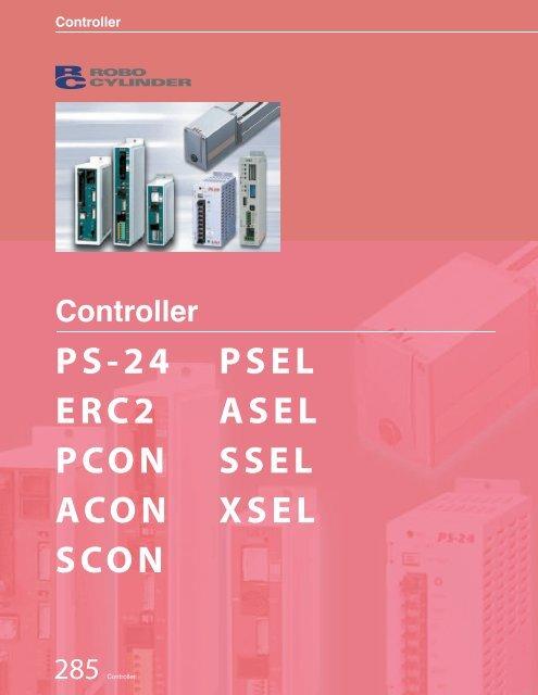 ERC2-RA7C-1-PM-4-50-PN-M-FT IAI Electric Linear Actuator w//Built-in Controller