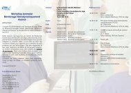 Workshop Animalier Monitorage Hémodynamiquement Avancé