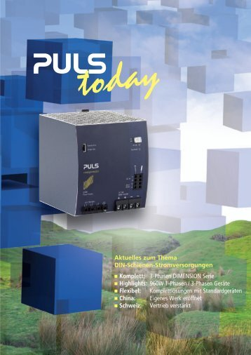 3-Phasen DIMENSION Serie n Highlights: 960W 1 ... - PULS GmbH