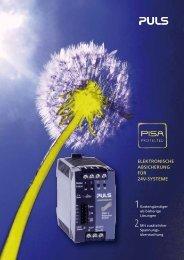 elektronische absicherung für 24v-systeme - PULS GmbH
