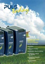 Stromversorgungen - PULS GmbH