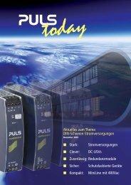 VRZ_6-seiter today_DE:Layout 1.qxd - PULS GmbH