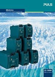 MiniLine / Profilo delle famiglie di prodotti 2005 - PULS GmbH