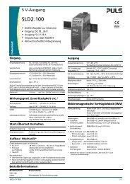 SLD2.100 - PULS GmbH