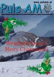 Wesołych Świąt!!! Merry Christmas!!! - Puls UM
