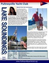 June - Pultneyville Yacht Club