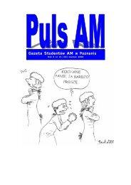 Gazeta Studentów AM w Poznaniu - Puls UM