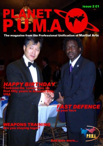 Issue 2 - Professional Unification of Martial Arts