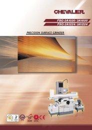 PRECISION SURFACE GRINDER - Puma Machine Tools
