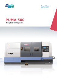 Heavy Duty Turning Center - Puma Machine Tools