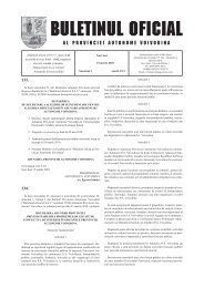 Buletinul oficial al PAV 2 - Vojvodina